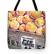 Pie Pumpkins For Sale Tote Bag