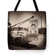 Pie Town Sepia Tote Bag