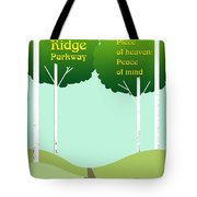 Piece Of Heaven Peace Of Mind Tote Bag