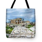 Acropolis - Pieces Of The Puzzle Tote Bag