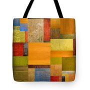 Pieces Project Ll Tote Bag by Michelle Calkins