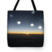Piecing  Together A New Day Tote Bag
