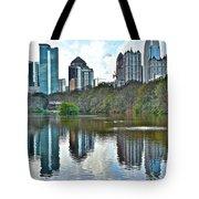 Piedmont Park Atlanta Reflection Tote Bag