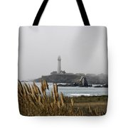 Piegeon Point Lighthouse Tote Bag