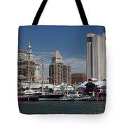 Pier 17 Nyc Tote Bag by Ken Barrett