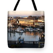 Pier 39 In The Sunshine Tote Bag