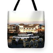 Pier 39 Panorama Tote Bag