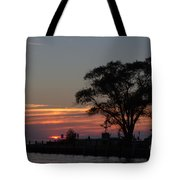 Pier A Long Way Out 5 Tote Bag