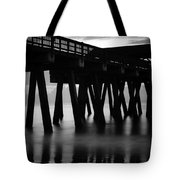 Pier Abstract Tote Bag