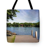 Pier At Kimberly Point Tote Bag