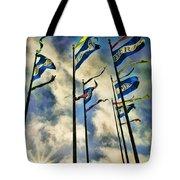 Pier Flags Tote Bag