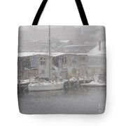 Pier In Disrepair Tote Bag