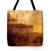 Pier Into The Depths Tote Bag