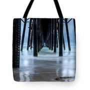 Pier Into The Ocean Tote Bag