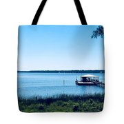 Pier On The Bay Tote Bag