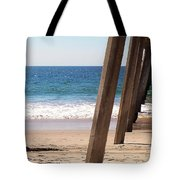 Pier On The Pacific Tote Bag