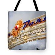 Pier Park  Tote Bag