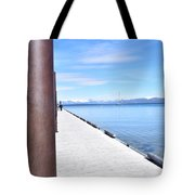 Pier Posted Tote Bag