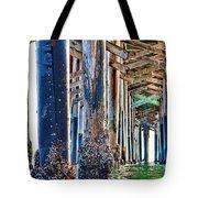 Pier Pylons Balboa Tote Bag
