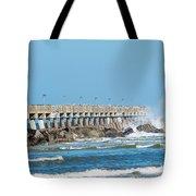 Pier Surf Tote Bag