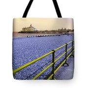Pier View England Tote Bag