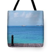 Pier View Tote Bag