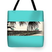 Pier Walk Tote Bag
