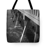 Pier Willmington Nc Tote Bag