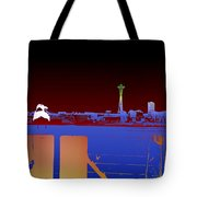 Pier With A View Tote Bag