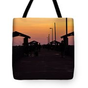 Pier Work Number Six Tote Bag