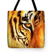 Piercing Glance Tote Bag