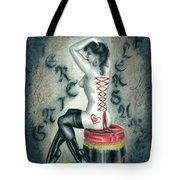 Piercing Pleasure Tote Bag