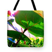 Piercing Sea Grapes Tote Bag