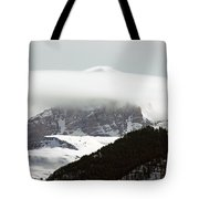 Piercing The Clouds Tote Bag