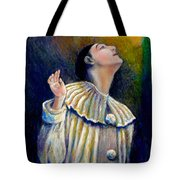 Pierrot's Peering Into The Light Tote Bag