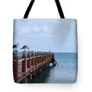 Piers By The Ocean2 Tote Bag