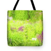 Piet Oudolf Garden At Tbg Tote Bag