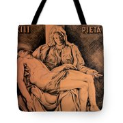 Pieta Study Tote Bag