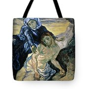 Pieta Tote Bag by Vincent van Gogh