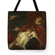 Pieta With Mary Magdalene Tote Bag