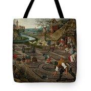 Pieter Breughel The Younger Tote Bag