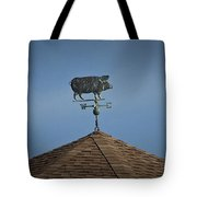 Pig Weathervane Ocean Isle North Carolina Tote Bag