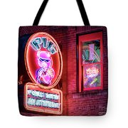 Pig With Attitude Tote Bag