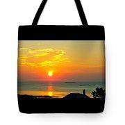 Pigeon Cove Summer Sunrise Tote Bag