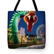 Pigeon Forge Dragon Tote Bag