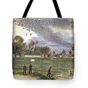 Pigeon Hunting, C1875 Tote Bag