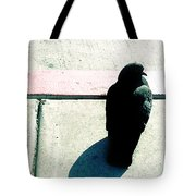 Pigeon Waits Tote Bag