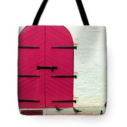 Pigeon Pink Tote Bag