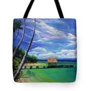 Pigeon Point   Tobago Tote Bag