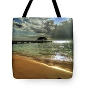 Pigeon Point Beach Tobago Tote Bag